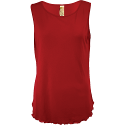 Women's Lettuce Leaf Tank, by A Walk In The Park®