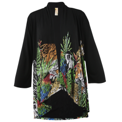 The Jungle Black Kimono, by A Walk In The Park®