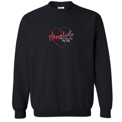 """Mamatude"" Black Fleece"