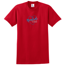 """Nanatude"" Red Tee"