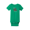 """Best Gift"" Green Onesie"