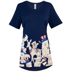 Wild About USA Short Sleeve Tunic - Mac & Belle