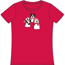 Gone to the Dogs Tee, by Mac & Belle®