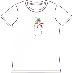 Lots of Snowmen Tee, by Nap Time®