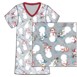 Lots of Snowmen Sleepshirt, by Needy Me®