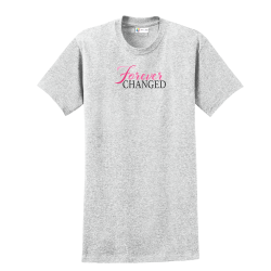 Forever Changed Light Steel Tee, by Live for Life | Hope for All®