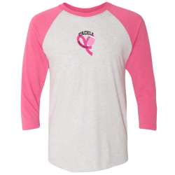 Tackle Pink Raglan Tee, by Live for Life | Hope for All®