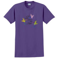 Take Flight Orchid Tee, by Live For Life | Hope For All®