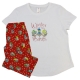 Women's 'Winter For The Birds' Holiday Pajama Sleepwear Set, by Needy Me Sleepwear®