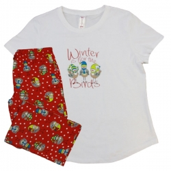 Winter For The Birds - Sleepwear Set