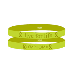 Lymphoma Lime - 'Live For Life' Bracelet