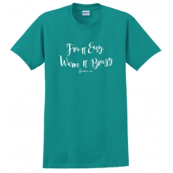 Southern-ism Free n Easy Jade T-Shirt