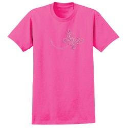 """Wings"", Printed on Pink, by Live For Life Hope For All®"