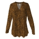 Leopard Print Silky Tunic, by A Walk In The Park®