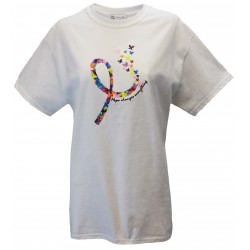 Butterfly Ribbon - Short Sleeve Tee