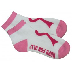 Women's Breast Cancer Socks, by Live For Life Hope For All®