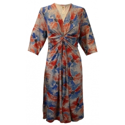 Painted Petals Knotted Dress Tunic, by A Walk In The Park®
