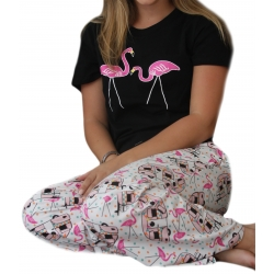 Women's 'Happy Camper' Pajama Sleep Set, by Needy Me Sleepwear®