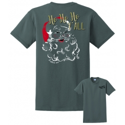 Southern-ism HO HO Y'ALL Ash T-Shirt