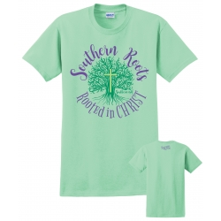 Rooted In Christ - Mint Tee