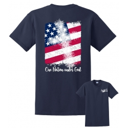 American-ism One Nation Navy T-Shirt