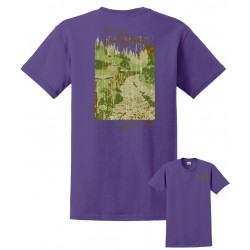 Country-ism Country Roads Violet T-Shirt