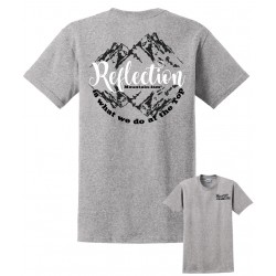 Mountain-ism Reflection Light Steel T-Shirt