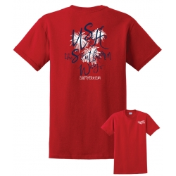 Southern-ism USA Southern Way Red T-Shirt
