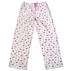 Pink Ribbon Polar Fleece Sleep Pant