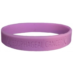 Esophageal Cancer - Lavender 'Live For Life' Bracelet