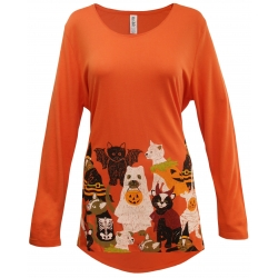 Meoween Halloween Swing Top