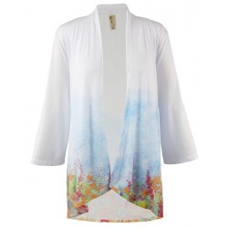 Summer Dreams 3/4 Sleeve Kimono - A Walk In The Park