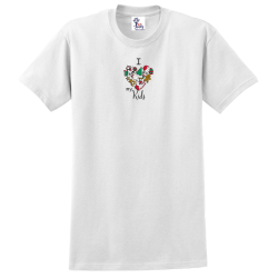 """Christmas Mix Kids"" White Tee"