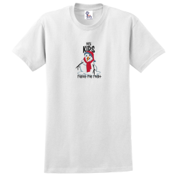"""Kids Melt"" White Tee"