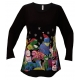 Cat Party Women's Holiday Swing Top, by Mac & Belle