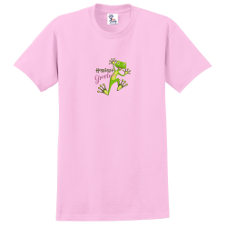 """Hoppiest Grandma"" Pink Tee"
