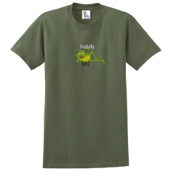 """Toadally Dad"" Military Green Tee"