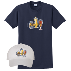"""Craft Draft"" Hat and Tee"