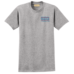 """Proud To Be a Healthcare Hero"" Light Steel Tee"