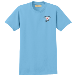 """Healthcare Hero"" Light Blue Tee"
