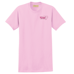 """Made a Difference"" Pink Tee"