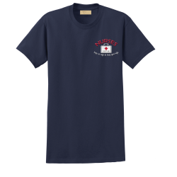 """Keep Us Safe"" Navy Tee"