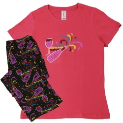 Women's 'Bottled Up' Pajama Sleepwear Set, by Needy Me Sleepwear®