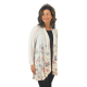 Santa Deer' Long Sleeve Holiday Kimono, by A Walk In The Park®