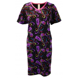 Women's 'Bottled Up' V-Neck Sleep Shirt Nightgown, by Needy Me Sleepwear®